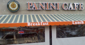 Panini Cafe - Wall Sign