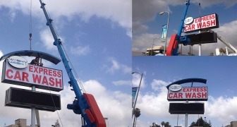 LED Signs For Car Wash