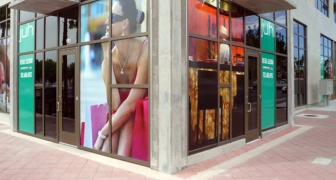 Store Window Signs & Graphics