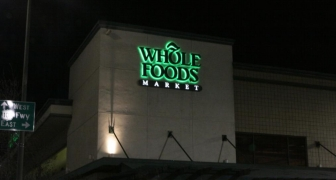 whole Foods-wall sign