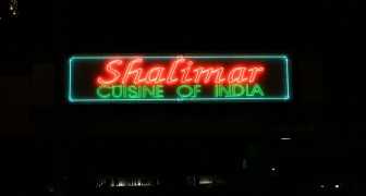 Shalimar Exposed neon  Sign