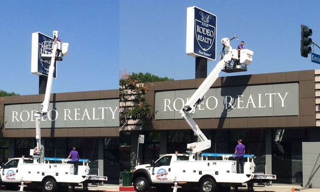 Large Roof Signs